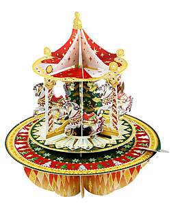 Christmas Carousel Card