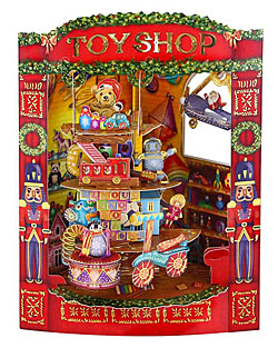 Christmas Toy Shop Card